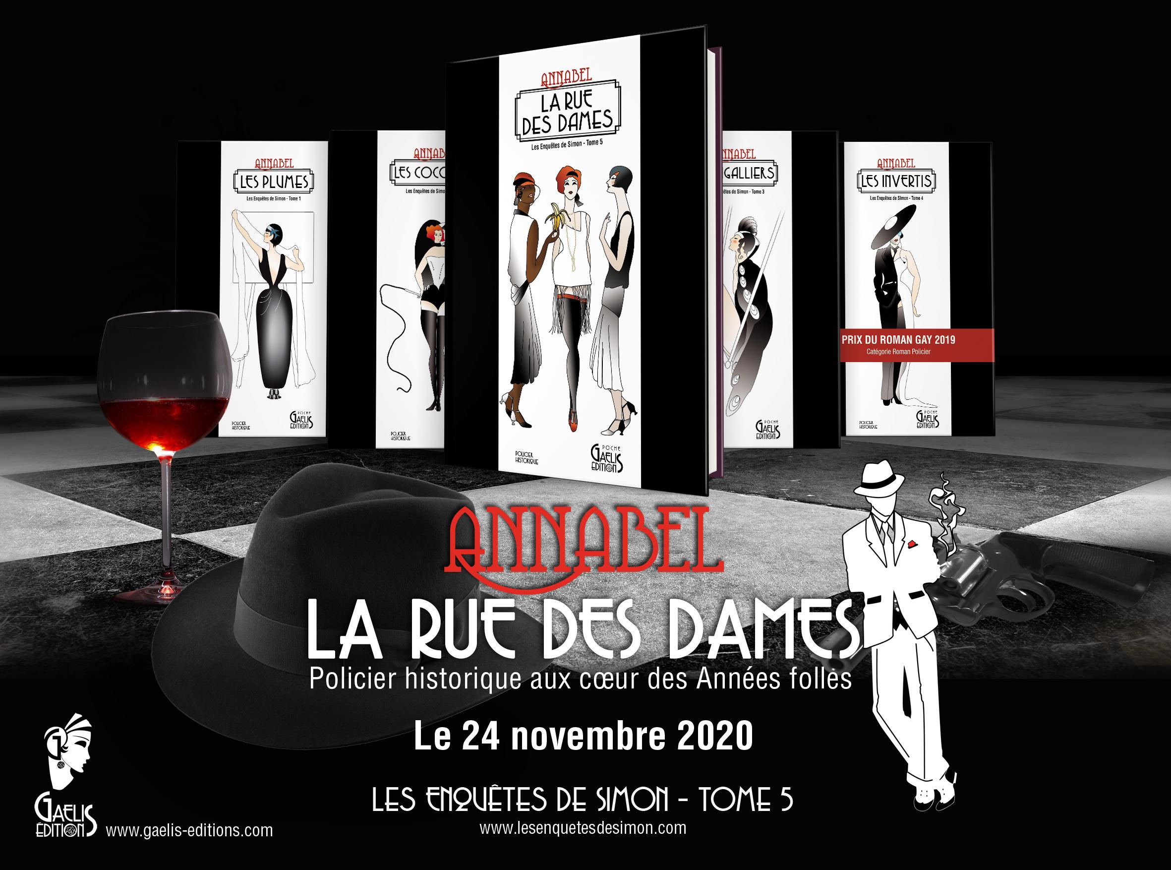 Collection-Les Enquetes de Simon-Annabel Gaelis Editions