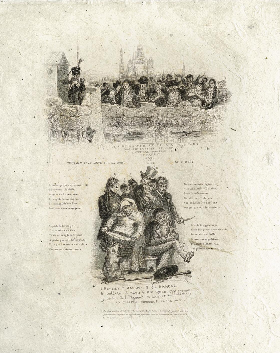 Complainte de Fualdès-Le Chant des crimes-Marc Renneville-Gaelis Éditions